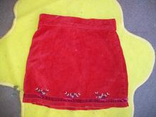Sametová sukně, 110