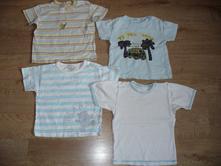 4x tričko vel. 80/86 na 1 rok různé značky, cherokee,80
