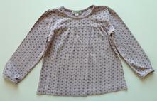 Vzorované tričko s dlouhým rukávem vel. 98, vertbaudet,98