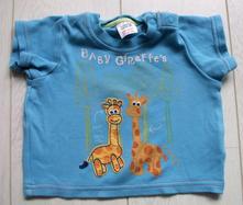 Triko se žirafkami, marks & spencer,62