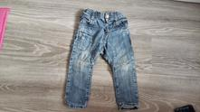 Odlehčené džíny zara vel.80-86, zara,80