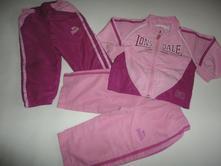 Set 2x kalhoty, bunda, lonsdale, vel. 18-24 m, lonsdale,92