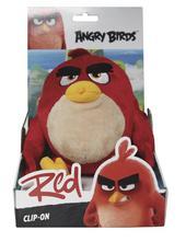 Angry birds hračka s přívěškem, 14 cm, 6 plyšáků,