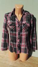 Vypasovaná košile blůzka divided - vel.38, h&m,38