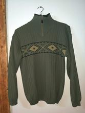 Pánský zelený svetr xl, xl