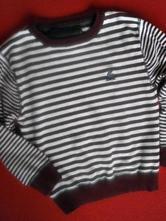 Pruhovaný bavl svetřík, rebel,122