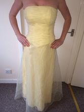 Společenské zlaté šaty vel 34 - 36, xs