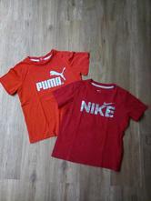 2x trička puma+nike, nike,104