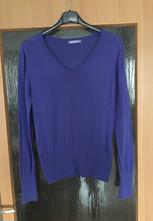 Dámský fialový svetr, terranova,l