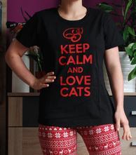 Tričko pro milovnice koček, l - xxxl