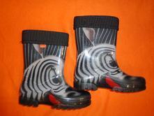 Super gumáky s vyndávací vložkou - zebry - demar, demar,34