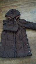 Hnědý prošívaný kabát, 110