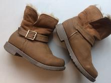 Dívčí kozačky zimní dětské boty č.076, f&f,29