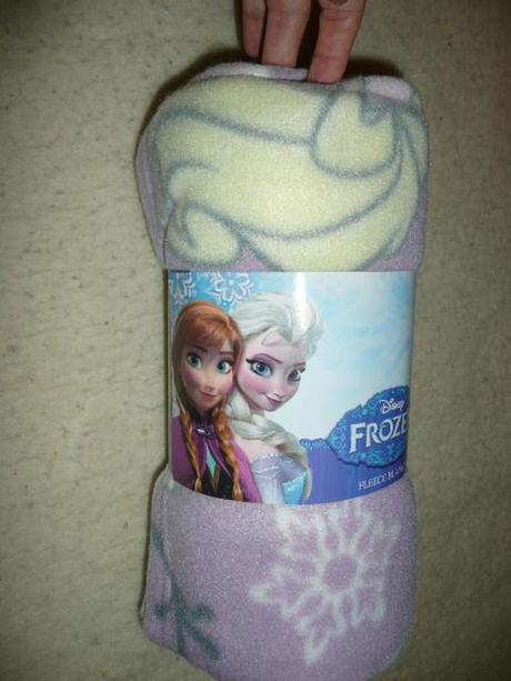 Fleecová deka frozen elsa ledové království,