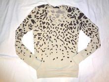 Krásný slabší tygrovaný svetr, m