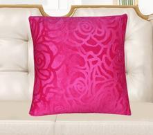 Povlak na polštářek 40x40 růže pink,