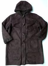 Dámský kožešinový kabát kožich s kapucí vel. 42-44, l