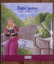 Kniha - žabí princ,