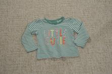 Dívčí pruhované triko tu, 80, tu,80