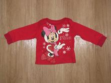 Vánoční tričko minnie, vl249, disney,80