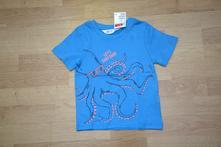 Triko s chobotnicí zn. h&m, vel. 98/104, h&m,98 / 104