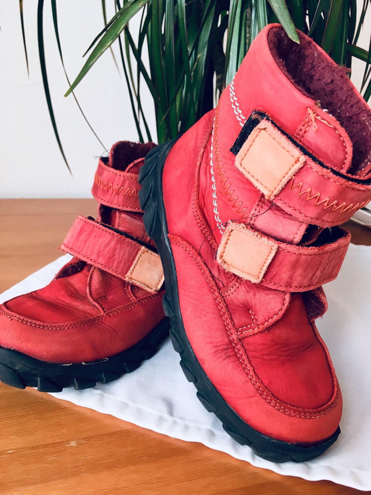 Zimní kožené boty essi db8d7f67a9