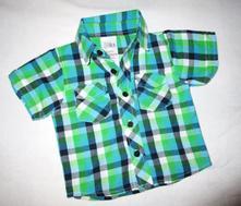 Kostkovaná košile, baby,80