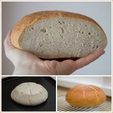 Kváskový chléb pšenično-žitný (kdybych vás tím pečivem už štvala, tak dejte vědět :-))