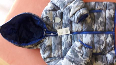 Podzimní /zimní bunda pro chlapce, vel.116, original marines,116