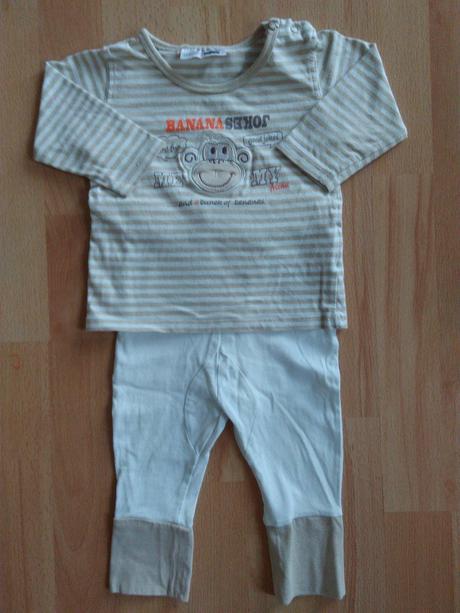 Dvoudílné pyžamo, ergee,68