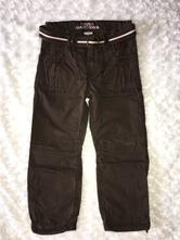 Hnědé kalhoty h&m, h&m,110