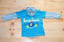 Košilové triko 92 topolino, topolino,92