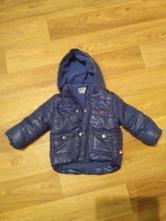 Modrá zimní bunda nenošená, okay,86