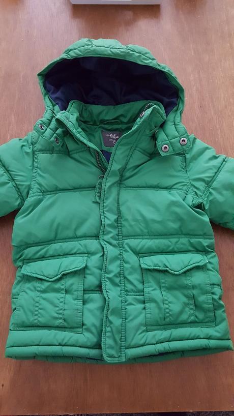 Zimní bunda, h&m,104