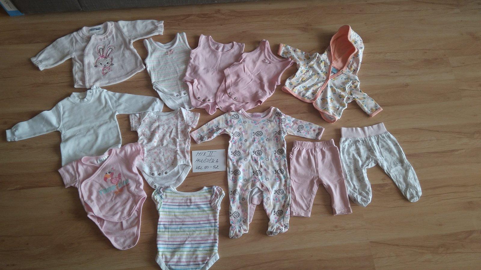 Mix 2 - kojenecké oblečení pro holčičku vel.50-56 54f2e5f827