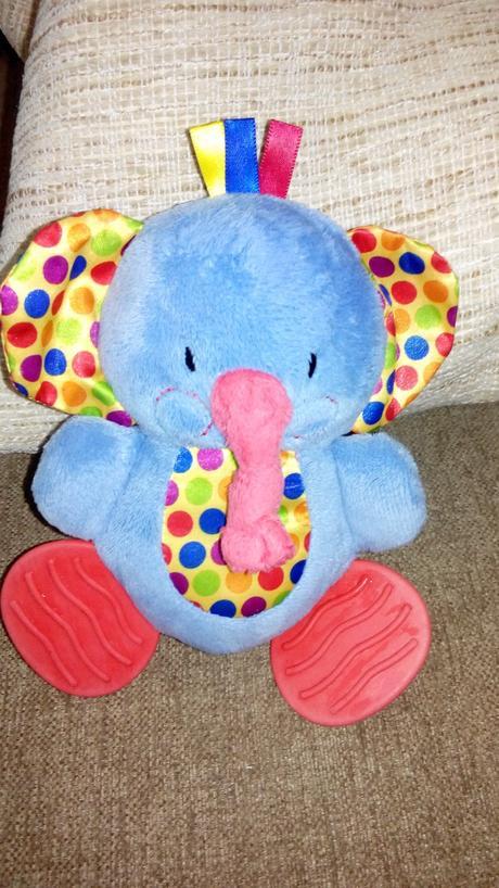 Pískací plyšový slon,