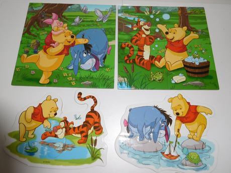 Baby puzzle medvídek pú,