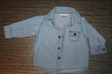Riflová košile nova, 68