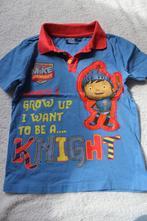 Modré tričko rytíř mike, tesco,110