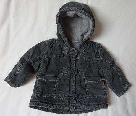Manšestrová zateplená bunda s kapucí, cherokee,86
