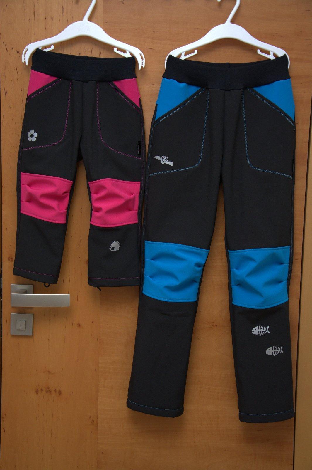 3e1d1664cd90 Softshellové kalhoty - propracované vel. 74-140