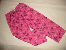 Pyžamo kalhoty minnie flanel 6/7 let, disney,122