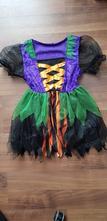Karnevalový kostým čarodějnice věk 4-6 let,