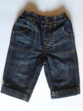 Tmavě modré džínečky, debenhams,68
