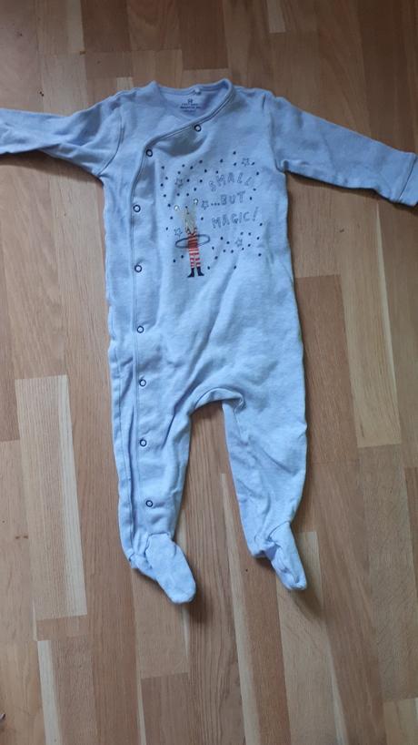 Modrý  overal, pyžamo, next,86