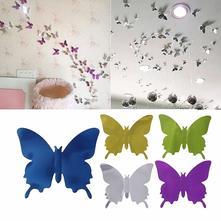 3d dekorace na zeď motýli zrcadloví,