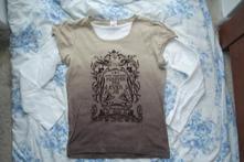 Batikované triko, c&a,158