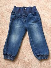 Zateplené džíny vel.86, c&a,86