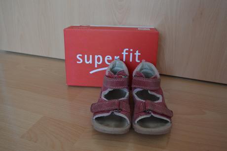 Pěkné sandále superfit vel. 23, superfit,23
