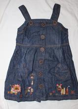Op621. riflové šaty 4-5 let, next,110